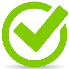 approved tick icon